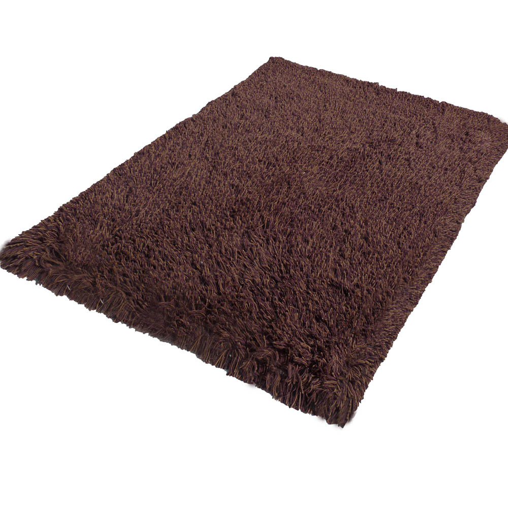 Highlander Shaggy Rug Mixed Brown 170x240cm 9