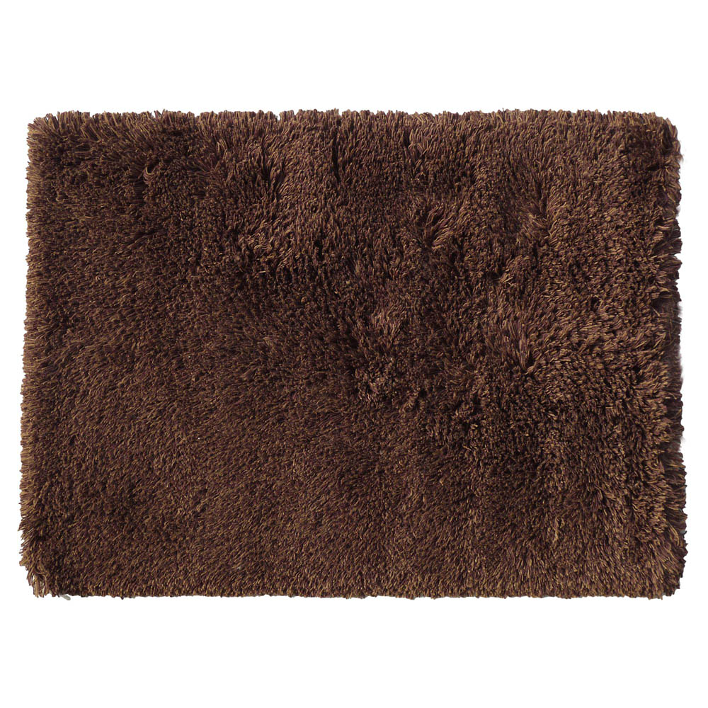 Highlander Shaggy Rug Mixed Brown 140x200cm 10