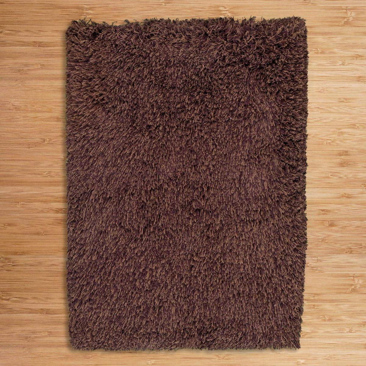 Highlander Shaggy Rug Mixed Brown 110x170cm 2