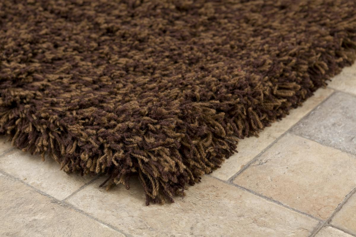 Highlander Shaggy Rug Mixed Brown 110x170cm 4