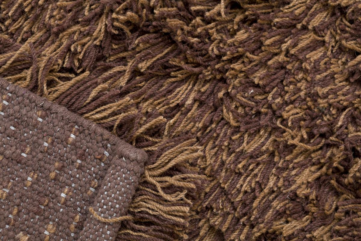 Highlander Shaggy Rug Mixed Brown 170x240cm 5