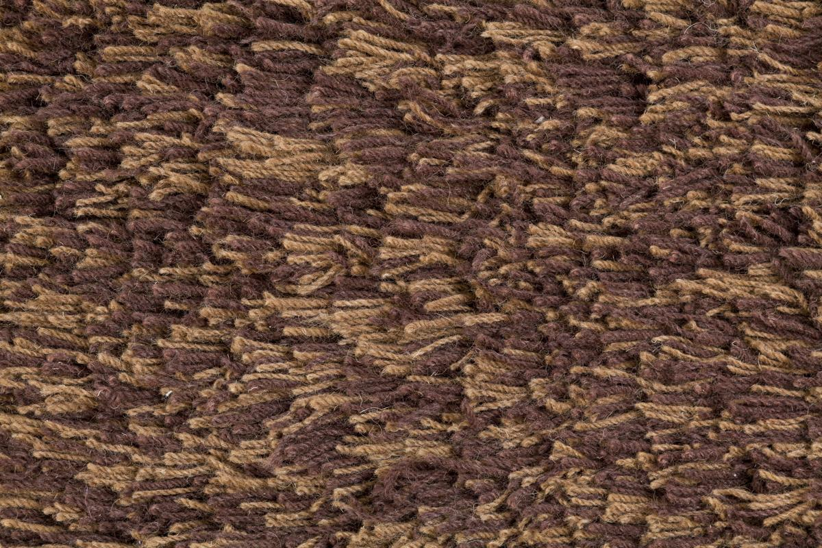 Highlander Shaggy Rug Mixed Brown 110x170cm 6