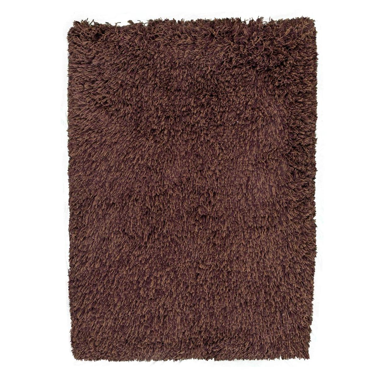 Highlander Shaggy Rug Mixed Brown 110x170cm 1