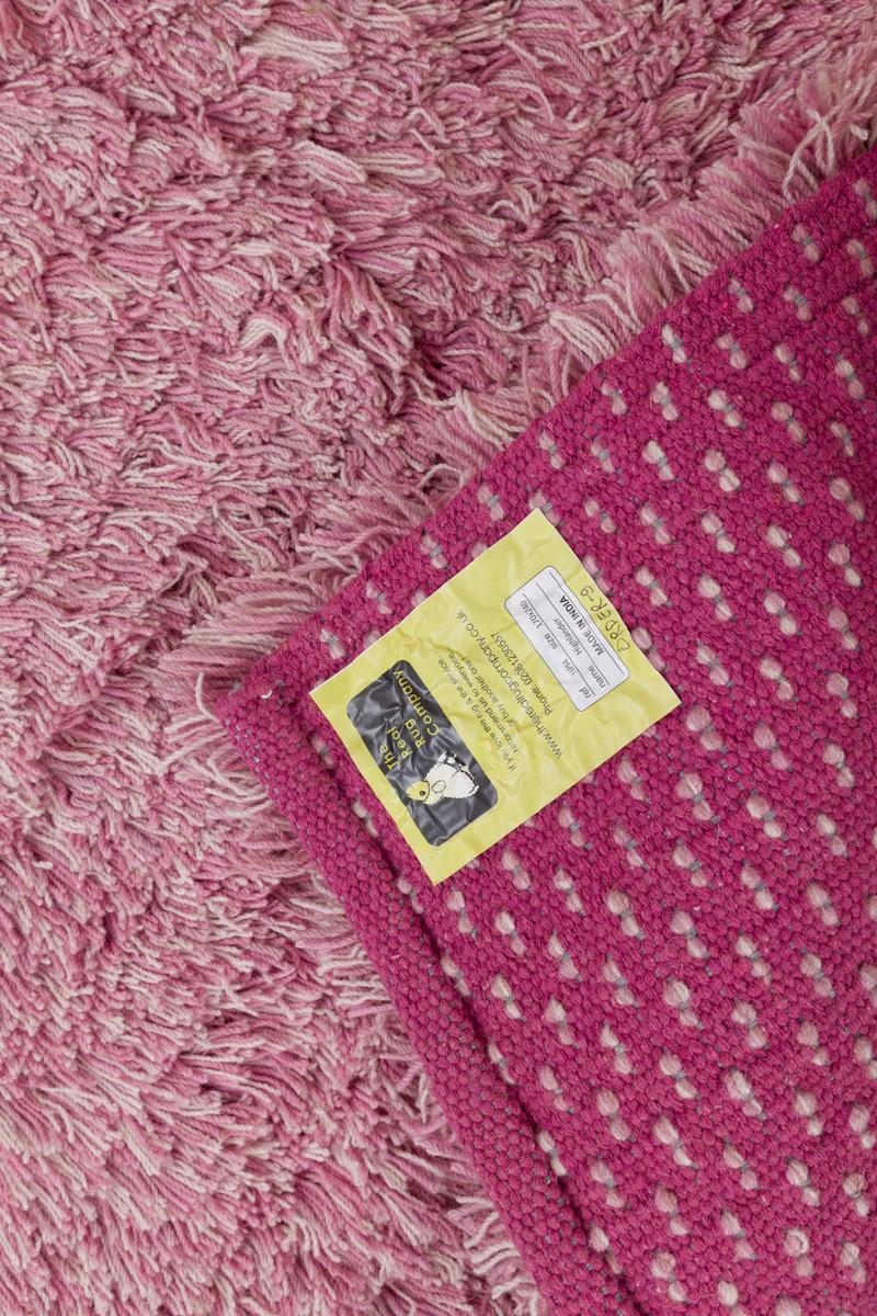 Highlander Shaggy Rug Mixed Pink 70x140cm 3
