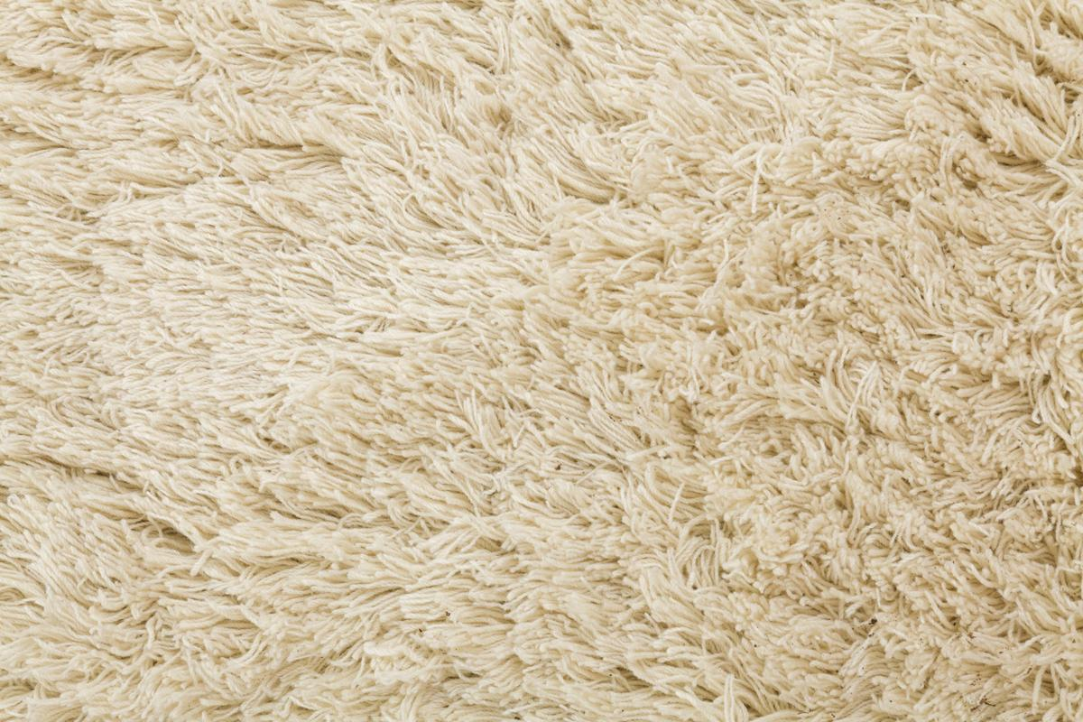 Highlander Shaggy Rug ROUND Natural 150cm 5
