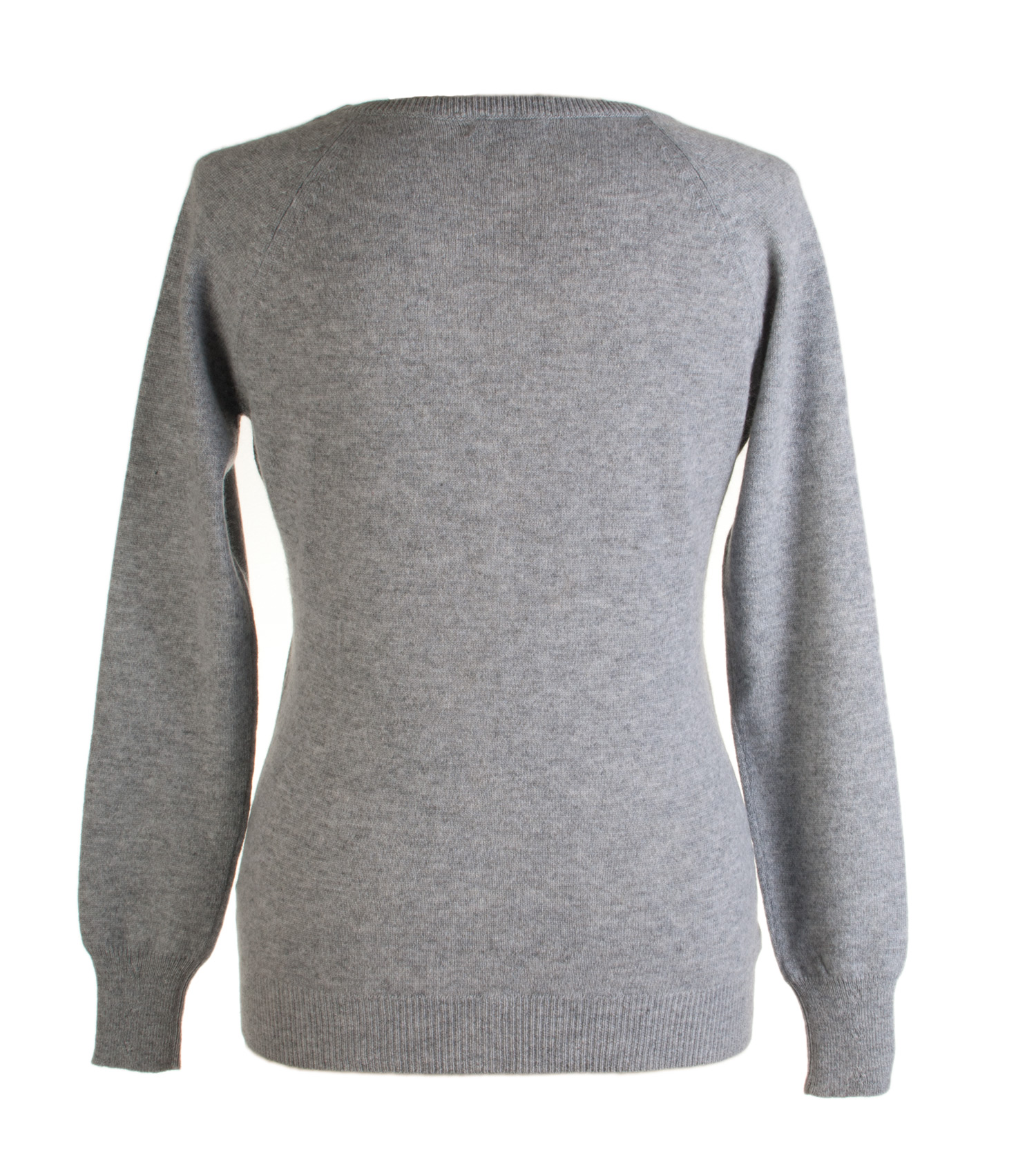 Ladies Cashmere Vneck Cardigan