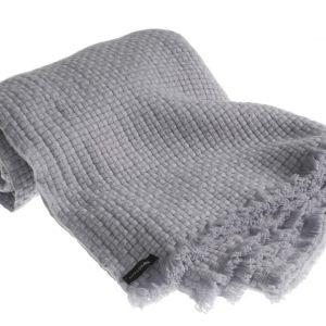 Pure Cashmere Basketweave Blanket