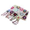 Crochet Knit Scarf - 100% Cashmere - 25x150cm - HKF06