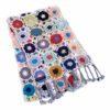 Crochet Knit Scarf - 100% Cashmere - 25x150cm - HKF228