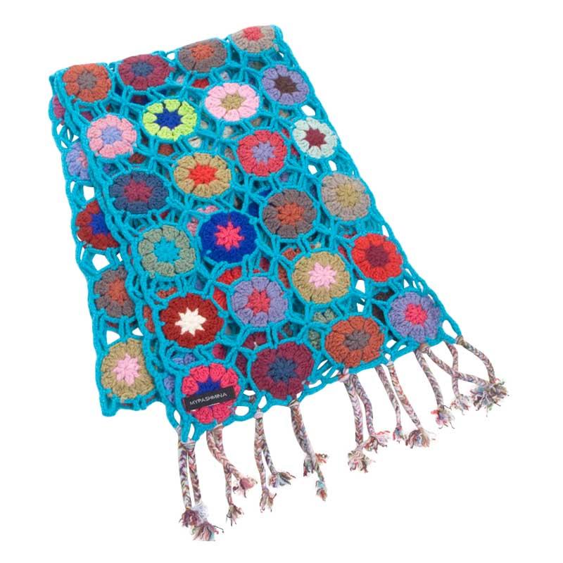 Crochet Cashmere Scarves