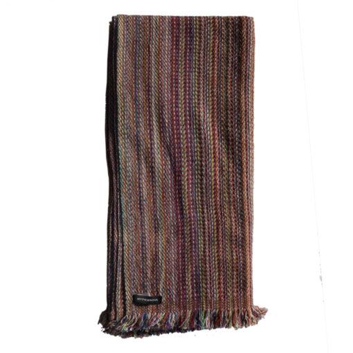 Cashmere Stripe Scarf - Srs13 - 45x180cm