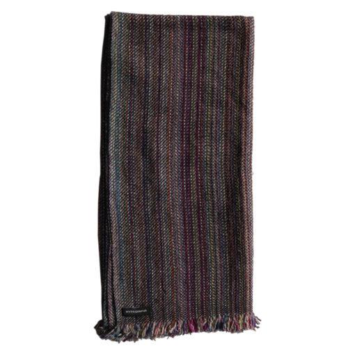 Cashmere Stripe Scarf - Srs15 - 45x180cm