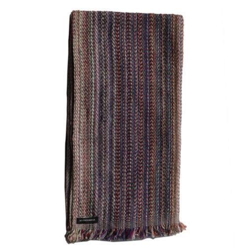 Cashmere Stripe Scarf - Srs17 - 45x180cm