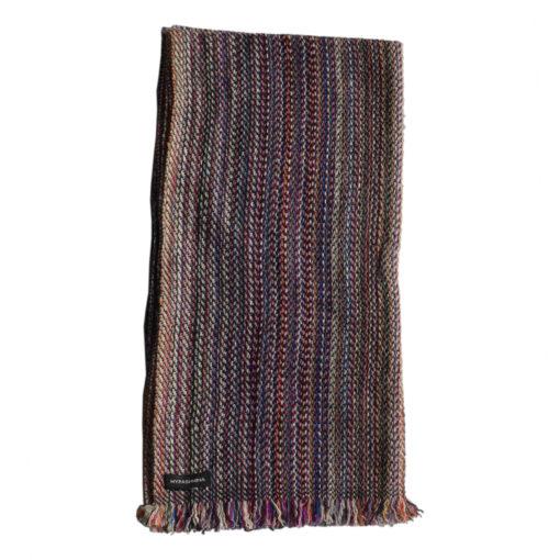 Cashmere Stripe Scarf - Srs21 - 45x180cm