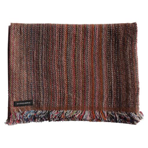 Cashmere Stripe Scarf - Srs31 - 33x180cm