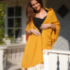 Pashmina Shawl - 90x200cm - 70% Cashmere / 30% Silk - Peach