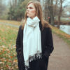 Pashmina Stole - 70x200cm - 70% Cashmere / 30% Silk - Candied Ginger