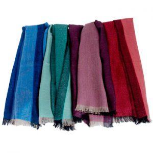 Pashmina - Superfine100count - 100% Cashmere - 50x180cm - Turquoise