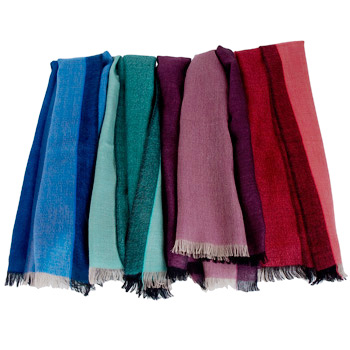 Superfine100 Count Pashmina - Turquoise