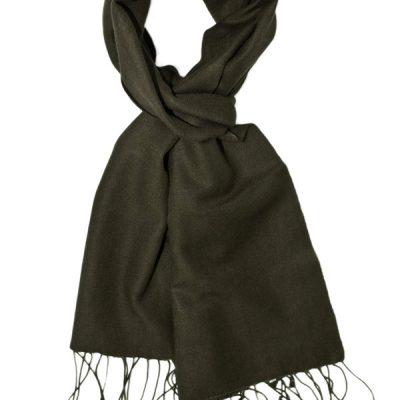 Pashmina Scarf - 30x150cm - 70% Cashmere/30% Silk - Dark Shadow
