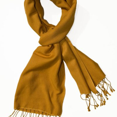 Pashmina Scarf - 30x150cm - 70% Cashmere/30% Silk - Narcissus