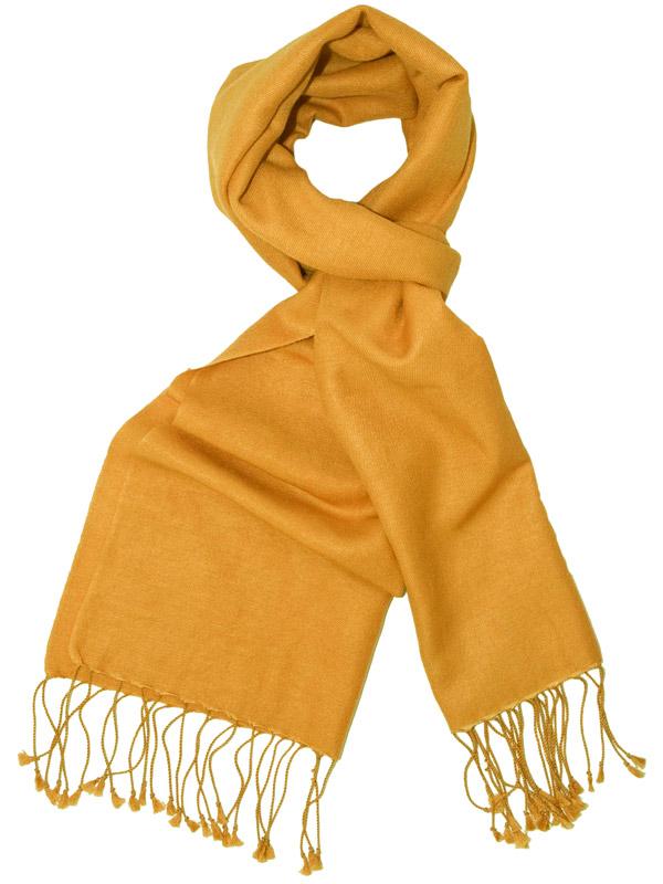 Pashmina Scarf - 30x150cm - 70% Cashmere/30% Silk - Apricot