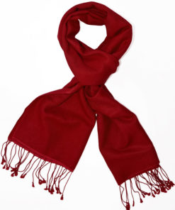 Pashmina Scarf - 30x150cm - 70% Cashmere/30% Silk - Rhododendron