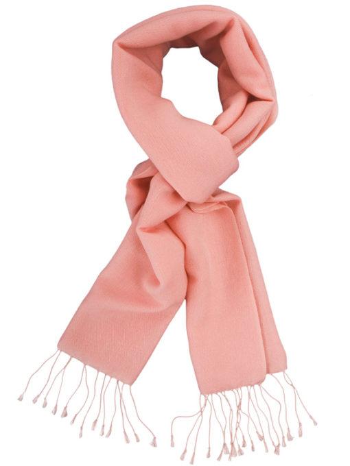 Pashmina Scarf - 30x150cm - 70% Cashmere/30% Silk - Quartz Pink