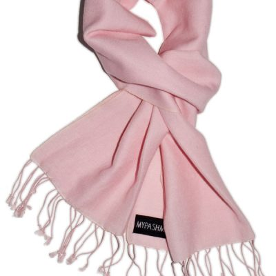 Pashmina Scarf - 30x150cm - 70% Cashmere/30% Silk - Pink Lady
