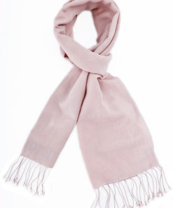 Pashmina Scarf - 30x150cm - 70% Cashmere/30% Silk - Barely Pink