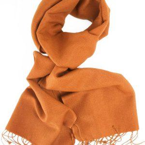 Pashmina Scarf - 30x150cm - 70% Cashmere/30% Silk - Ginger Bread