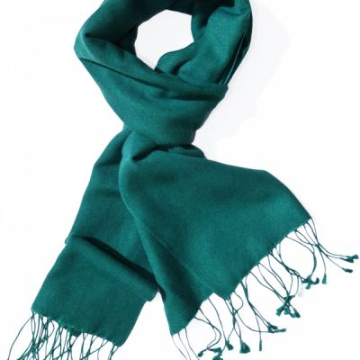 Pashmina Scarf - 30x150cm - 70% Cashmere/30% Silk - North Sea