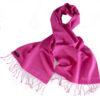Pashmina Scarf - 30x150cm - 70% Cashmere/30% Silk - Very Berry