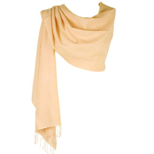Pashmina Large Scarf - 45x200cm - 70% Cashmere/30% Silk - Bellini