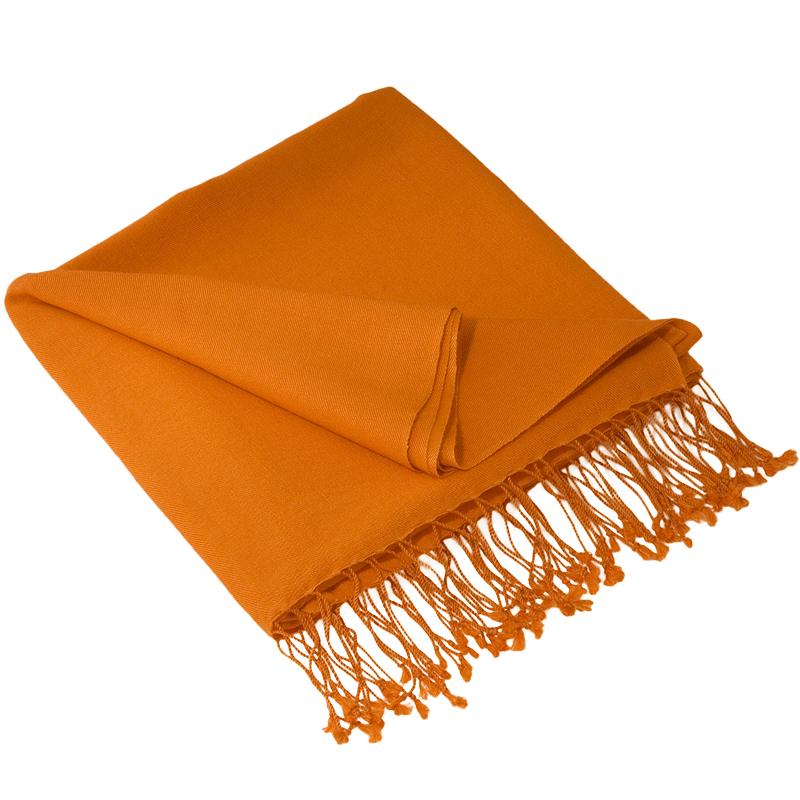 Pashmina Stole - 70x200cm - 70% Cashmere / 30% Silk - Apricot