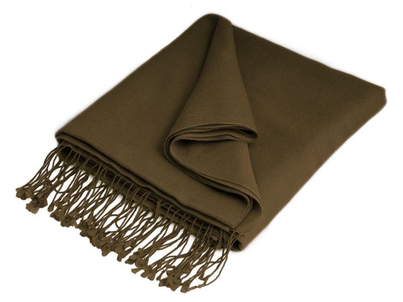 Pashmina Stole - 70x200cm - 70% Cashmere / 30% Silk - Sepia