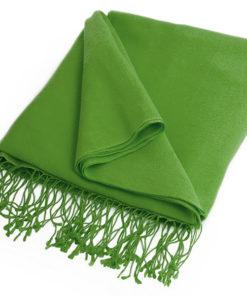 Pashmina Stole - 70x200cm - 70% Cashmere / 30% Silk - Forest Green