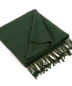 Pashmina Stole - 70x200cm - 70% Cashmere / 30% Silk - Green Gables
