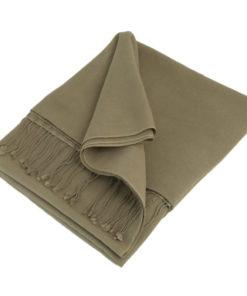 Pashmina Shawl - 90x200cm - 70% Cashmere / 30% Silk - Cinder