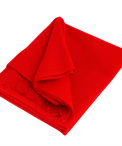 Pashmina Stole - 70x200cm - 100% Cashmere - Fiery Red