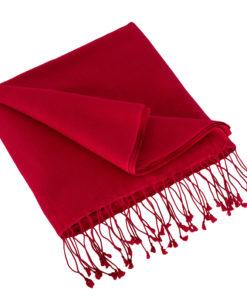 Pashmina Stole - 70x200cm - 100% Cashmere - Crimson