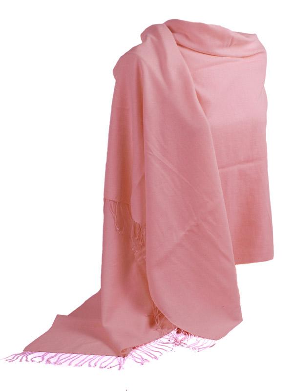 Pashmina Stole - 70x200cm - 100% Cashmere - Quartz Pink