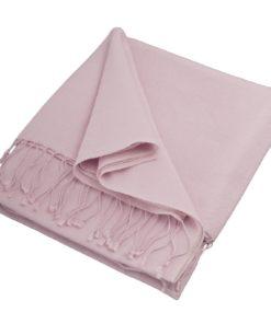 Pashmina Stole - 70x200cm - 100% Cashmere - Pink Lady