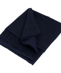 Pashmina Stole - 70x200cm - 100% Cashmere - Dark Navy