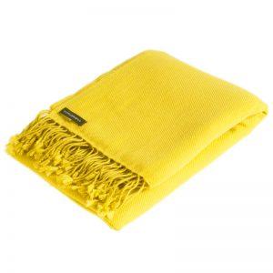 Pashmina Shawl - 90x200cm - 100% Cashmere - Daffodil