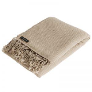 Pashmina Shawl - 90x200cm - 100% Cashmere - Sand Shell