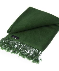 Pashmina Shawl - 90x200cm - 100% Cashmere - Green Gables