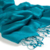 Jacquard Water Pashmina - 70x200cm - 80% Cashmere / 20% Silk - Biscay Bay