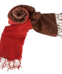 Shaded Pashmina Stole - 70% Cashmere / 30% Silk