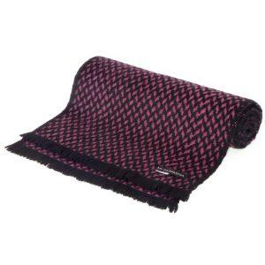 Pure Cashmere Scarf - Herringbone Weave